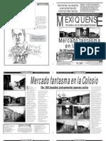 Versión impresa del periódico El mexiquense 7 de noviembre 2012