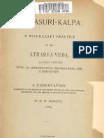 Adharvana Veda Asuri Kalpa,