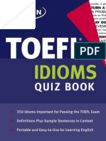TOEFL Idioms Flashcards