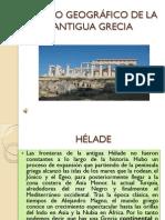 MARCO GEOGRÁFICO DE LA ANTIGUA GRECIA