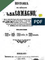 Historia Del Emperador Carlomagno 1855