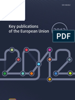 Key Publications of the European Union 2012
