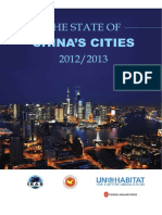 The State of China's Cities 2012/2013