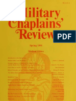 Military Chaplain Review Medical Ethics