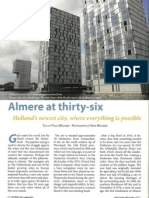 Almere at thirty-six
