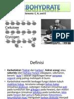 Kuliah3 S1 Biokim2 Karbohidrat