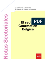 El sector gourmet en Bélgica