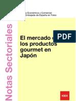 El mercado de los productos gourmet en Japón