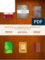 Mentor & Christian Heritage Catalogue 2013