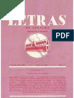 Letras de Sinaloa No. 6 - Enero de 1948