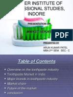 Market Report Toothpaste 567227647