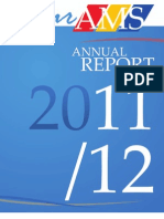 AMS Annual Report, 2011-12