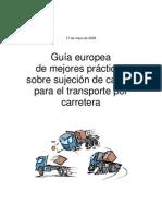Guía europea Directiva de Seguridad con Cargas