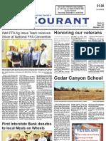 Pennington Co. Courant, November 8, 2012