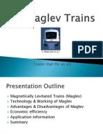 Maglev Trains