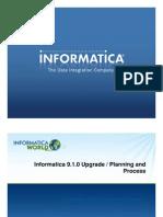 HOL Informatica 9.1.0 Upgrade