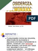 HEMOSIDEROZA PULMONARA