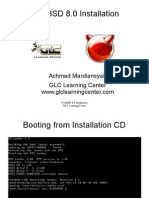 FreeBSD80 Installation