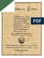 En Ica Naciò la Patria.Prof.Alberto Casa Vilca