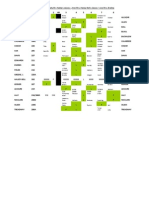2012 13 Pre Assignment Schedule