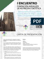 I Encuentro FAND - Programa Definitivo 23 Nov 2012