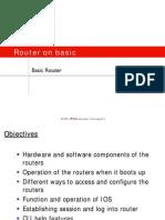 1.3 Basic Router