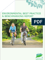 Environmental Best Practice Benchmarking Report Award Cycle 2012 2013