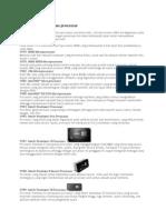 Sejarah Perkembangan Processor