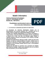 07-11-2011 Guadalajara pavimentará más avenidas con concreto hidráulicos