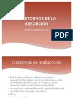 TRASTORNOS DE LA ABSORCIÓN