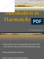 Automation in Haematology - Bernard