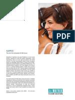 Matrix SAPEX IP PBX Brochure