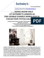 The George Daniels Horological Collection, Post-Sale Release_merged
