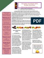 HP Newsletter November 2012