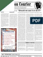 Bison Courier, November 8, 2012