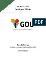 Consejero Académico GOU 2013