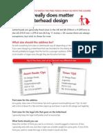 Learn to Design a Letterhead Part 3