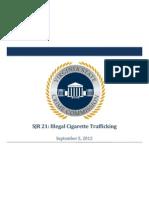 Virginia Crime Commission Presentation on Cigarette Smuggling