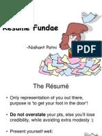 Résumé Fundae