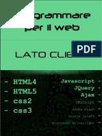Programmare Per Il Web - Lato Client [2012]
