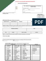 Formulario de inscripción de obras