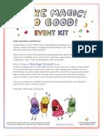 Make Magic! Do Good! by Dallas Clayton - Event Kit