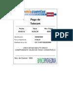 Pago Telecom 3391