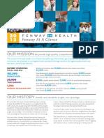 Fenway Health At A Glance