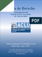 Carta de Derecho, Constitución de Puerto Rico