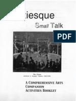 Satiesque Small Talk-Activity Program SAMPLER