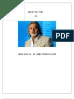Vijay Mallya - An Entreprenuer Apart