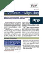 Apuntes de Migración de Centroamérica