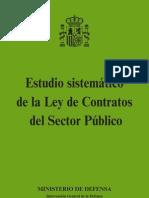 Estudio Sistematico de La Ley de Contratos Del Sector Publico