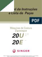 Manual Singer Zigue Zague 20U